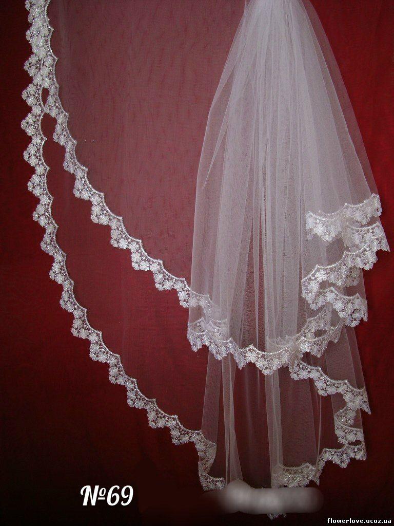 Как сшить свадебную фату